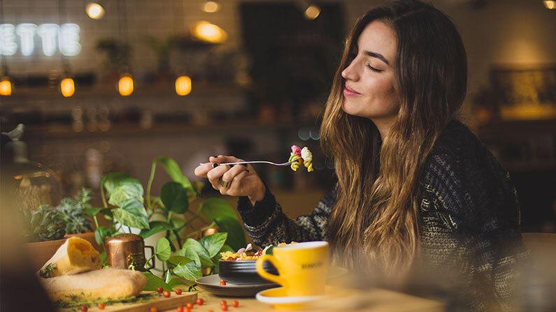 Spis vekk jobbstresset
