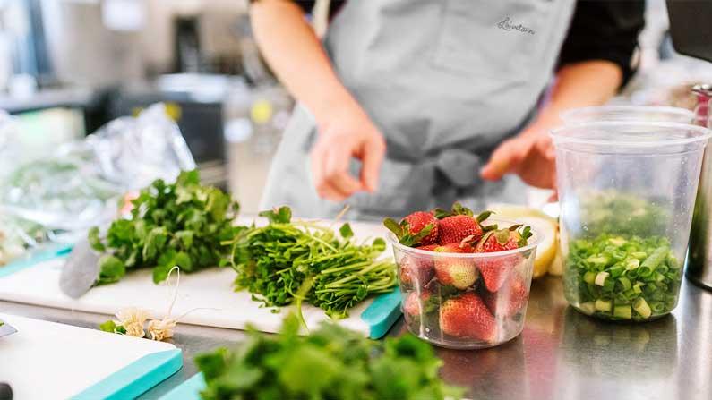 En kantine med sunn mat fremmer god trivsel