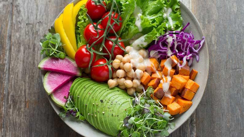 Er en stor porsjon salat nok?
